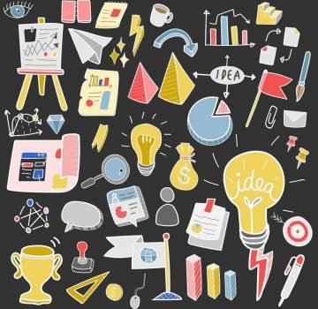 business-idea-strategy-and-tools-icon